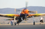 """Running with Chocks"" Pilot John Penney, Race 77, Rare Bear"