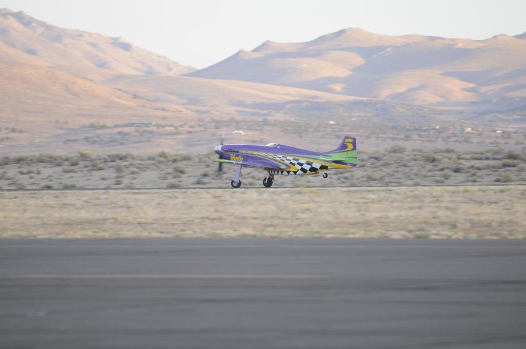Race #5 Voodoo, P-51D Mustang Taking Off