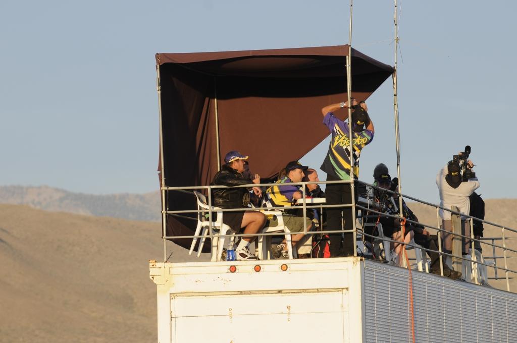 Voodoo Crew Watching Dawn Practice Run