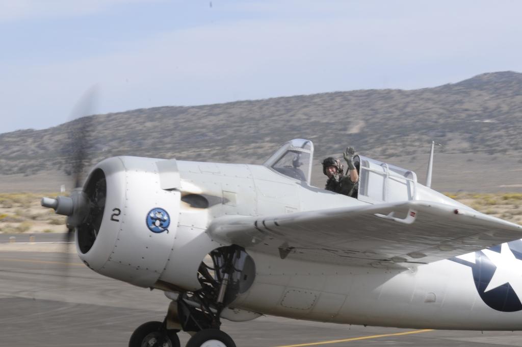 Race #2 Air Biscuit, Grumman FM-2 Wildcat