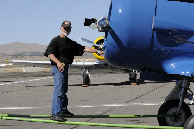 Crew Chief Gary Unruh Towing Race #28 Radical Velocity