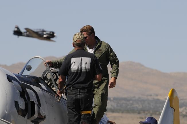 T-6 Pilot Jim Eberhardt, Race #30 Archimedes