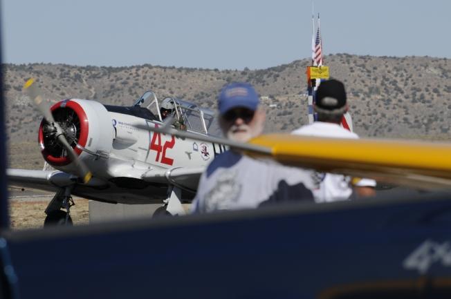 "T-6 Pilot Chris Rushing Race #42 Honest Entry- ""Thumbs Up!"""