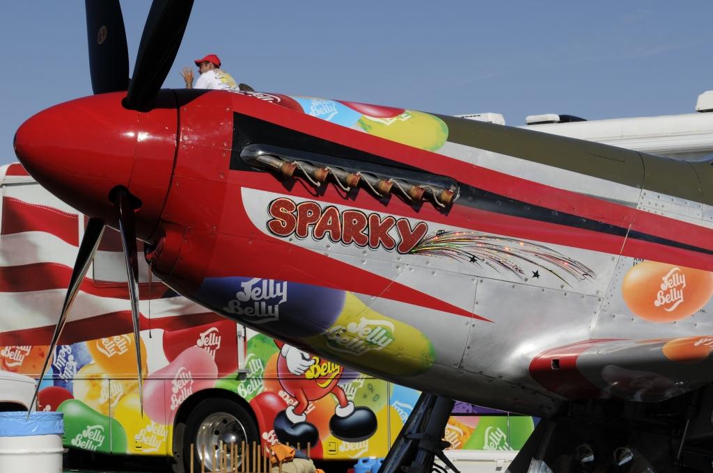 """P-51D """"Sparky"""" Race #44"""