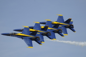Blue Angels - Origami