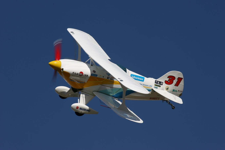 Race 31 Tango-Tango, Bi-Plane, Tony Higa Pilot
