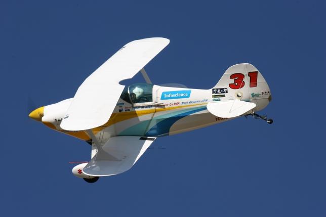 Race 31 Taango-Tango, Bi-Plane, Tony Higa Pilot